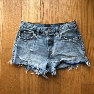 Levi's 501 jean shorts! Size 26!